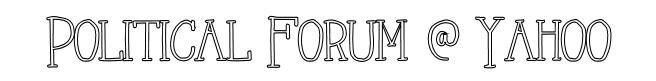 political forum @ yahoo